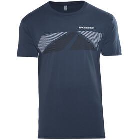 Bikester Logo Shirt T-Shirt blauw